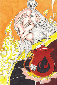 The 阿凡达 has to e one of the best damn shows on t.v. and one of my 收藏夹 is Iroh. I don't agree
