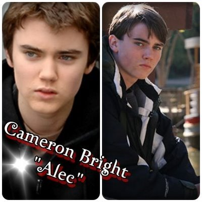 I think Cameron Bright Is a great person. He has been In many roles and now Is In a huge role for New