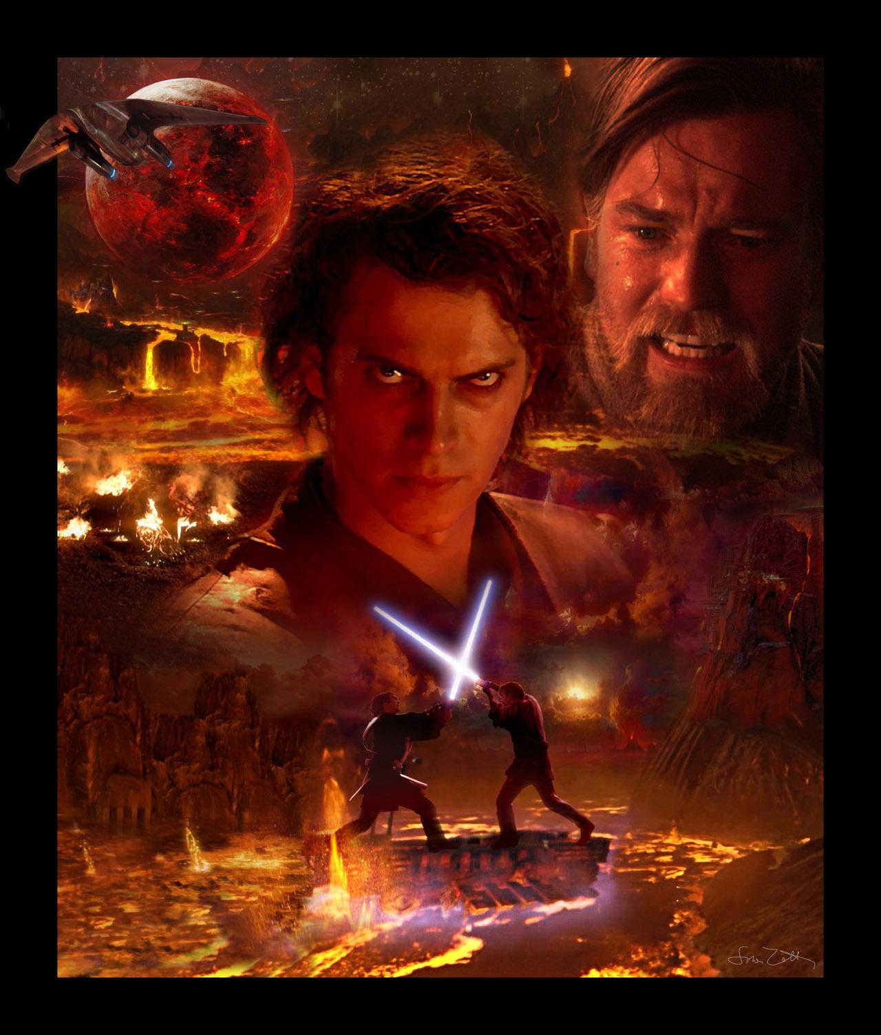 Anakin turning to the dark side - Star Wars101 - Fanpop