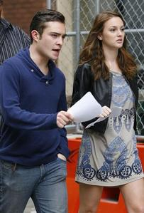 Ed Westwick, Leighton Meester Film Upcoming Scenes Posted on September 3rd, 2009 1:52 PM por EGOCEN