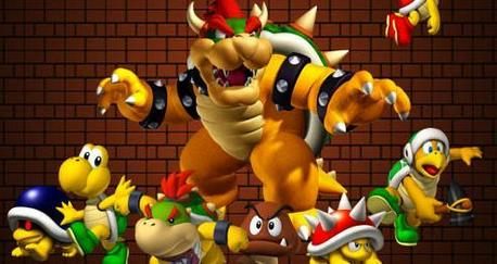 Where would Mario be without Bowser? Who doesn't like an enemy with an army of millions of nấm
