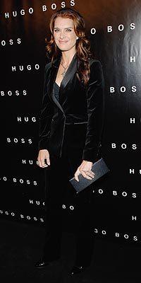 Brooke Shields at Huge Boss Store Opening gepostet on October 24th, 2008 2:19 PM Von Joe Billionaire F