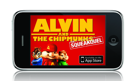 Check out the new Alvin and the Chipmunks: The Squeakquel iPhone App! http://tinyurl.com/SqueakquelAp
