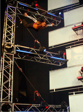 see this swanton bomb he did it through 30 feet high