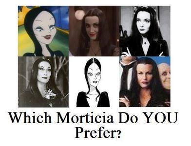 My پسندیدہ member of the Addams Family HAS to be Morticia. But which? Yeah I think I like Carolyn Jo