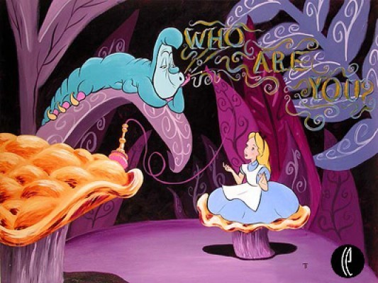 identity conflict in alice in wonderland In alice and wonderland and through the looking glass, characters frequently mistake alice as something other than a little girl the white rabbit mistakes her for a.