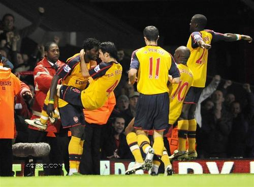 Arsenal vs. West Ham,26 October,2008