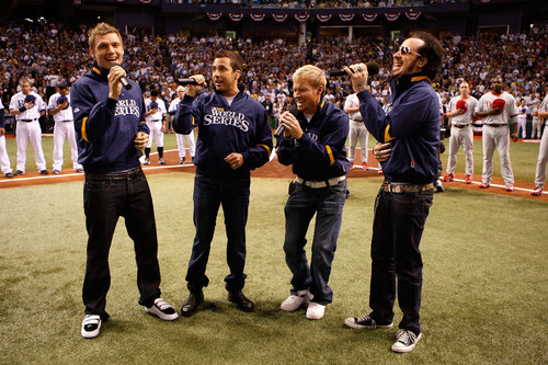 BSB Performing @ the 2008 World Series