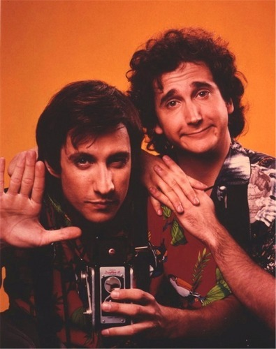Perfect Strangers wallpaper probably with a portrait entitled Balki & Larry