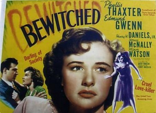 pelikula wolpeyper entitled Bewitched 1945 Lobby Card