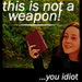 Bible: Not A Weapon