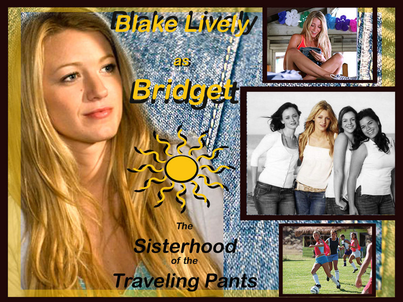 Sisterhood Of Traveling Pants. Bridget - Sisterhood of the
