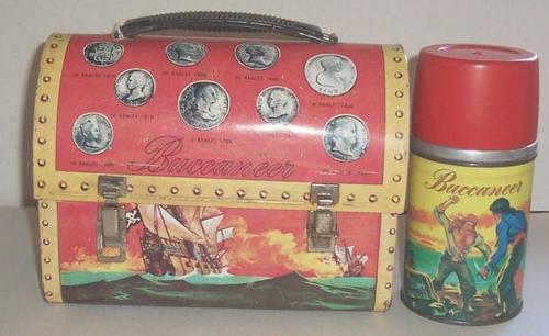 Buccaneer Vintage 1957 Lunch Box