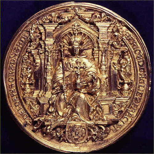 Copy of Henry VIII's sello Front Side