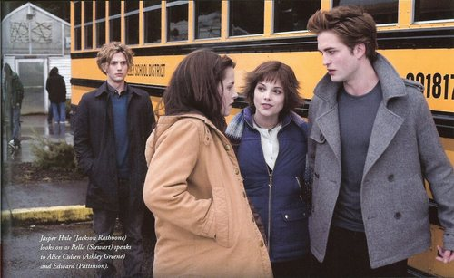 Edward, Bella, Jasper and Alice