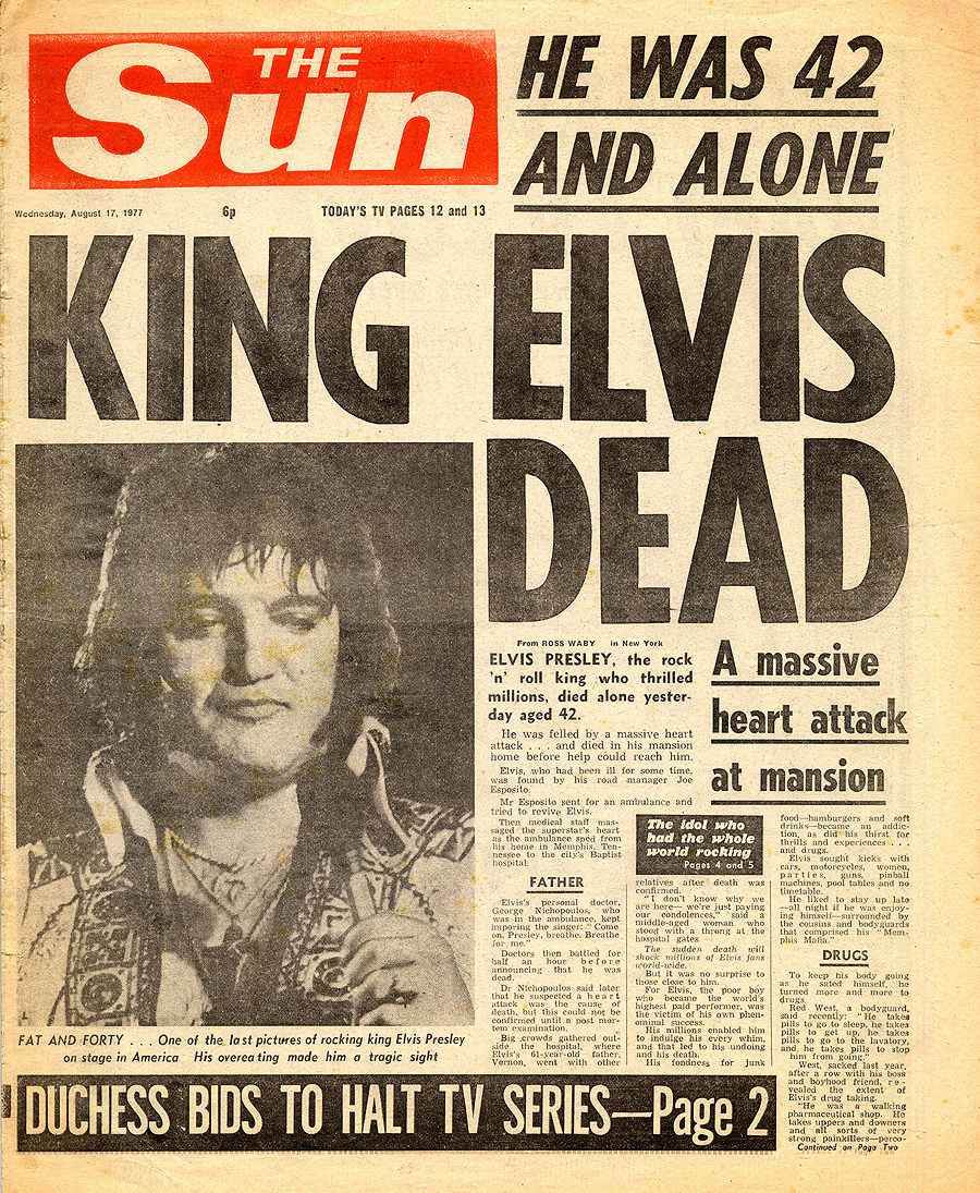 Elvis: The দিন The King Died!