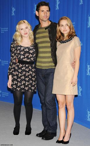 Eric with Natalie Portman & Scarlett Johanssson