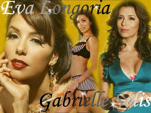 Desperate Housewives wallpaper containing a portrait entitled Eva/Gabby