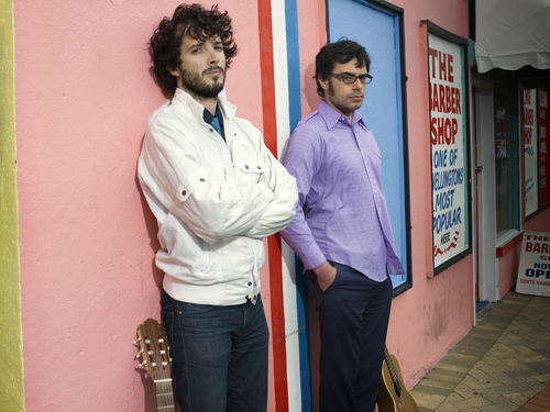 Flight of the Conchords wallpaper probably containing a business suit entitled Flight of the Conchords