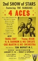 Four Aces original poster - rocknroll-remembered photo