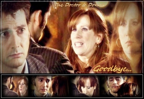 Donna Noble kertas dinding titled Goodbye Donna Noble ...