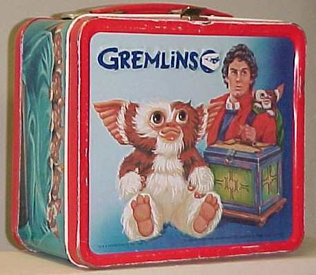 Gremlins Vintage 1984 Lunch Box