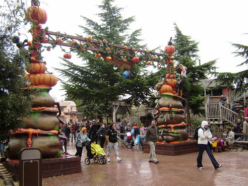 halloween in Disneyland, Paris