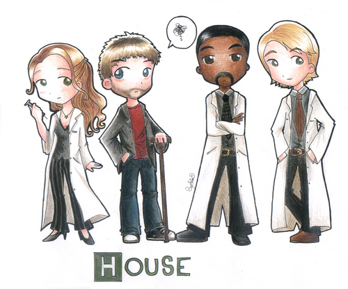 House fan art