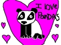 I love pandas! - pandas fan art