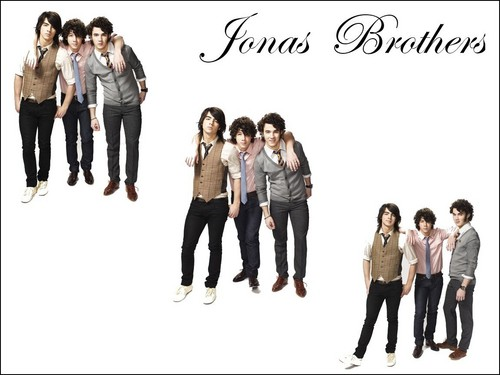 The Jonas Brothers wallpaper titled Jonas Brothers