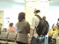 Jophia at teh airport - new&lt;3 - sophia-bush-and-james-lafferty photo