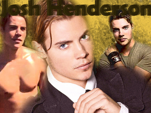 Josh Henderson wallpaper containing a business suit and a portrait titled Josh Henderson