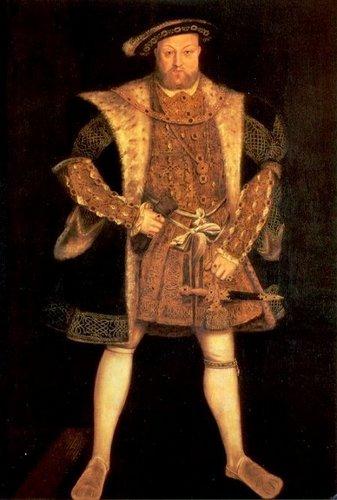 King Henry VIII 1540