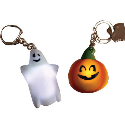 Keychains wallpaper entitled Light Up Halloween Keychains
