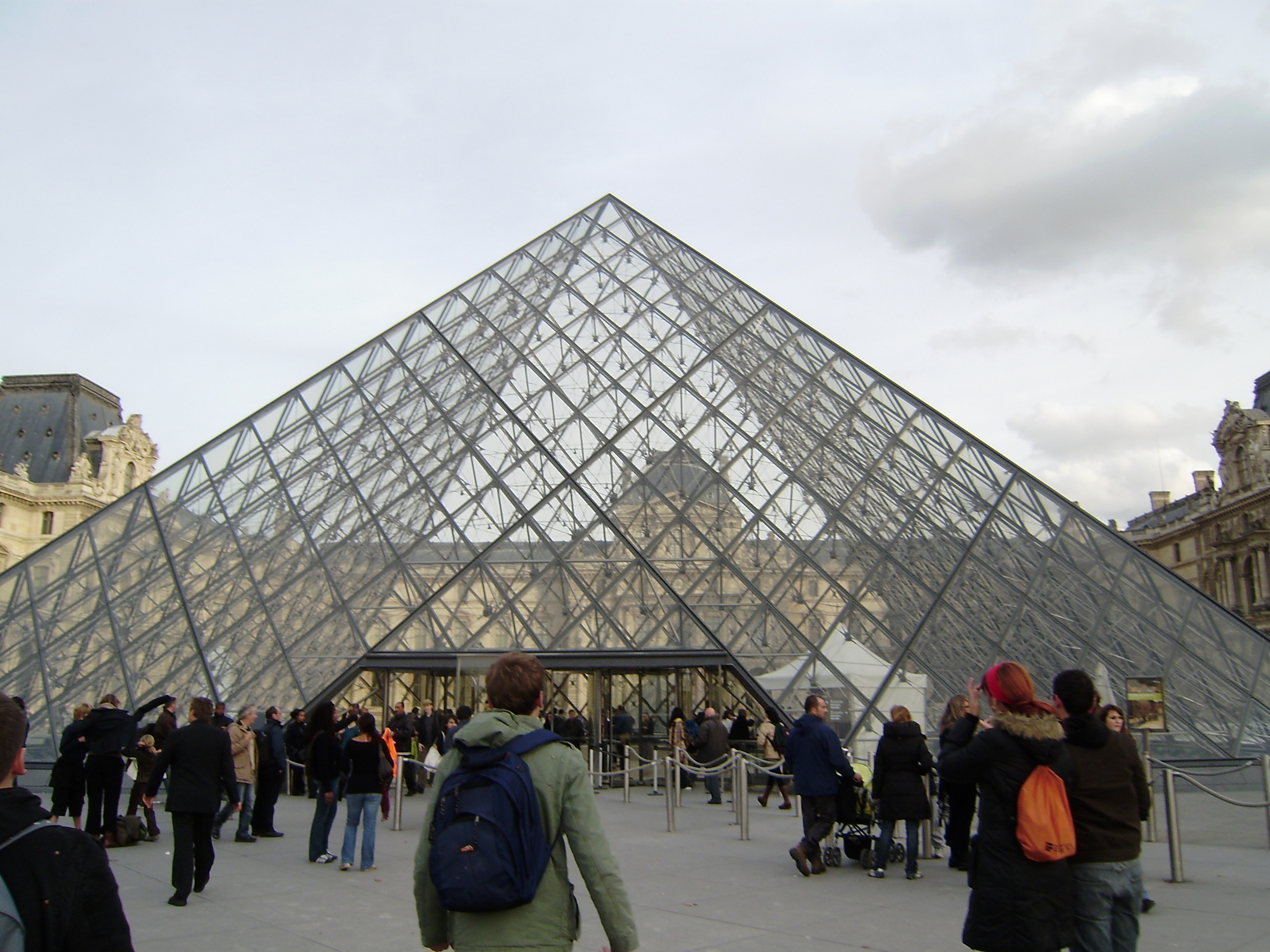 Europe louvre paris france