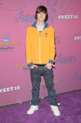 Matt @ Miley Cyrus' Sweet Sixteen Bash