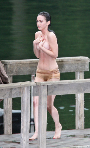 Megan fox Topless!