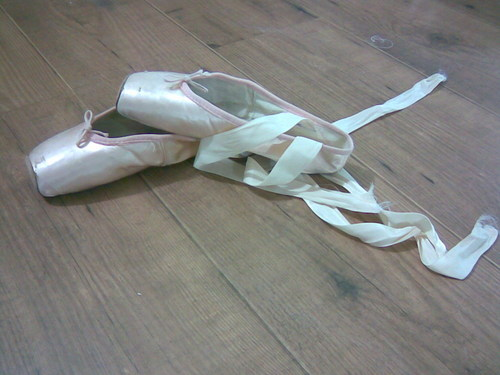 My Pointe Shoes - ballet Photo