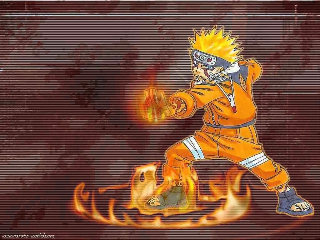 Naruto karatasi la kupamba ukuta 1