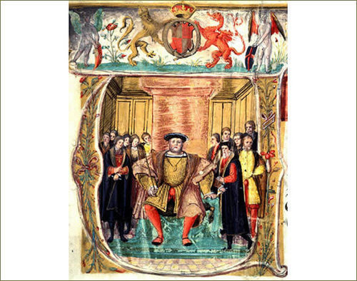 Picture Commissioned দ্বারা Henry VIII for the Valor Ecclesiasticus