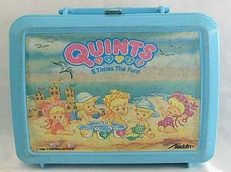 Quints Vintage 1986 Lunch Box