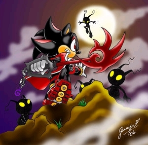 SHADOW THE TRUE KEYBLADE MASTER LOL