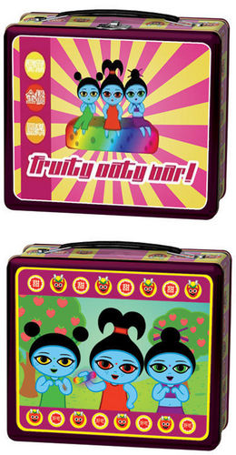 Lunch Boxes wolpeyper called Serenity Fruity Oaty Bar Lunch Box
