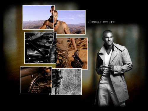 Shemar Moore - criminal-minds Wallpaper