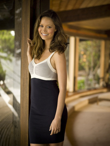 Summer Glau Men's Health Photoshoot