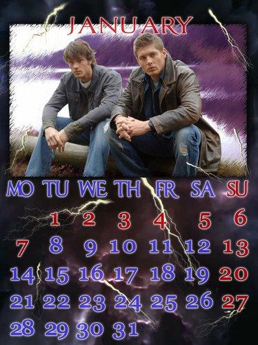 Supernatural calendar