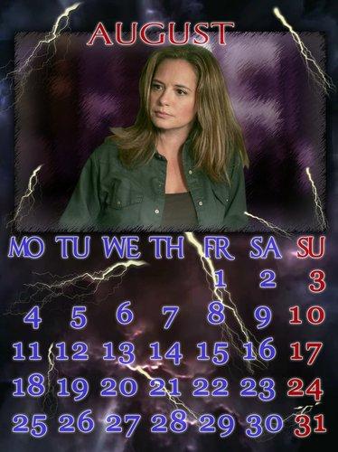 邪恶力量 calendar