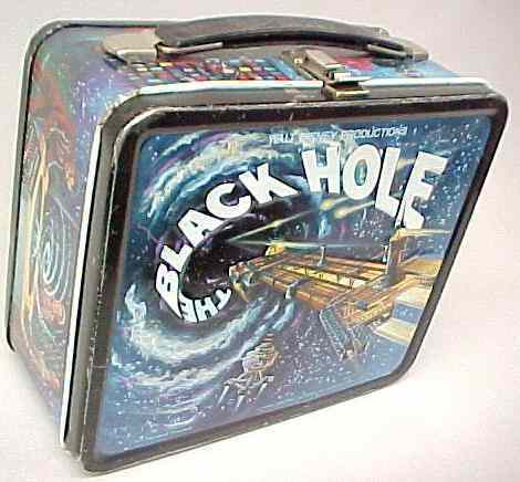 The Black Hole Vintage 1979 Lunch Box