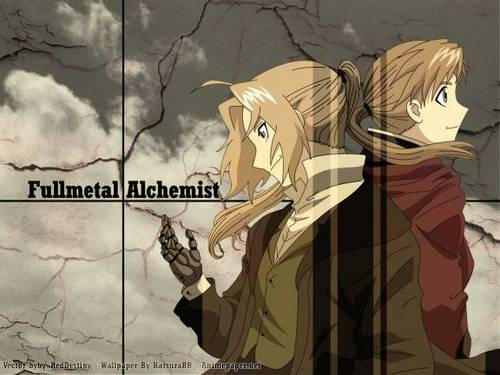 Full Metal Alchemist wallpaper containing anime called The Brothers Elric