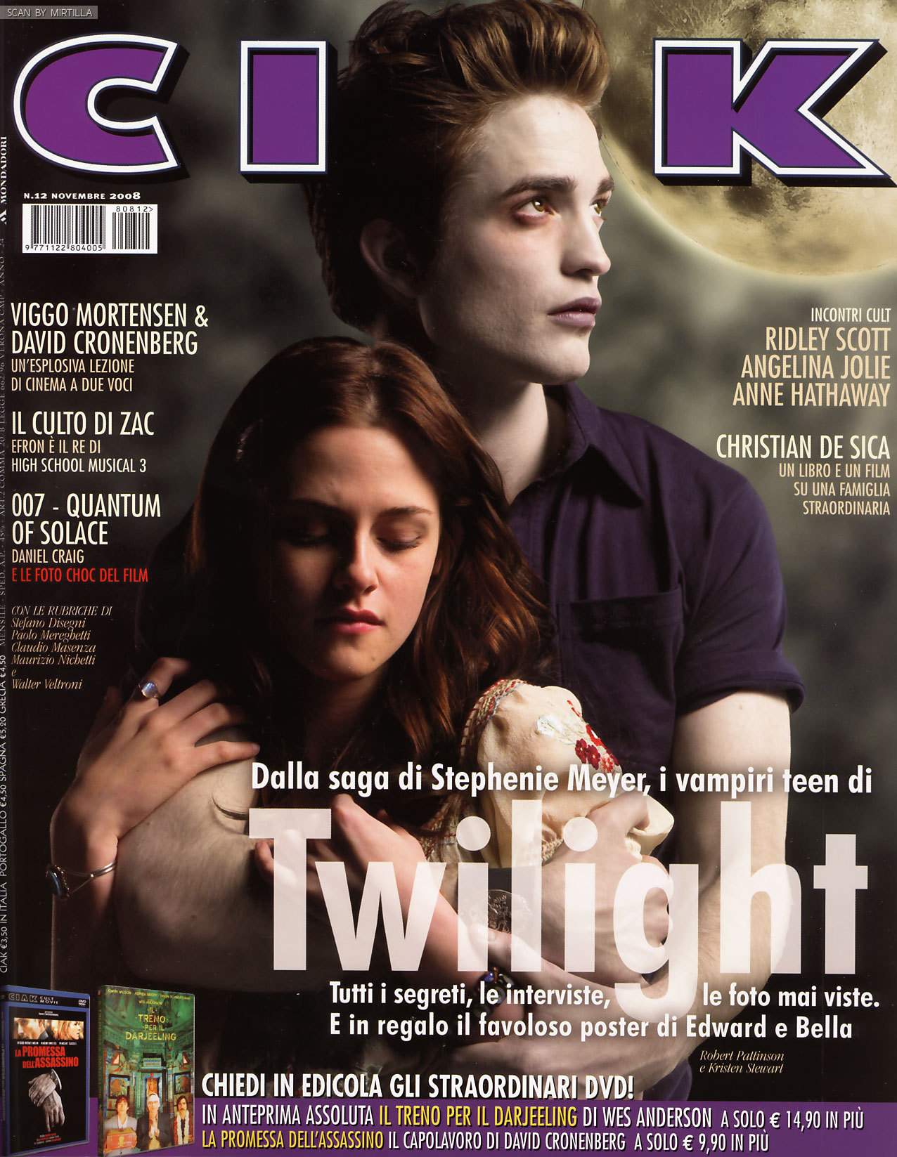 Twilight New Magazine Cover
